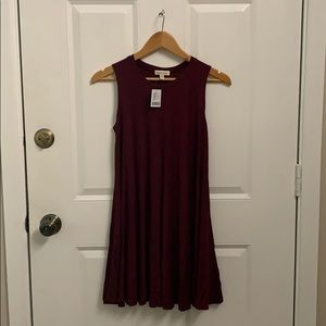 Urban Outfitters maroon dress